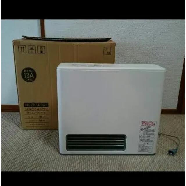 東邦(トウホウ)のガスファンヒーター スマホ/家電/カメラの冷暖房/空調(ファンヒーター)の商品写真