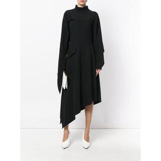 ロエベ(LOEWE)のJ.W.Anderson Asymmetric Dress ワンピース マキシ(ロングワンピース/マキシワンピース)