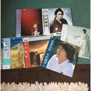 コロンビア(Columbia)の中村雅俊 ベストセレクション全22曲2枚組 を含む LPレコード7枚(ポップス/ロック(邦楽))