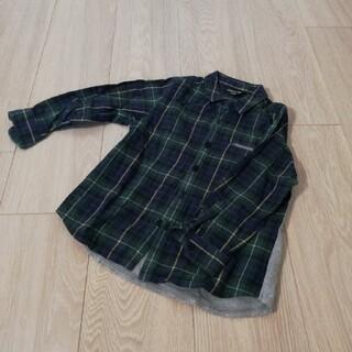 コムサイズム(COMME CA ISM)のコムサイズム/チェックシャツ 100(ブラウス)