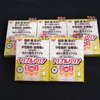 ニッシンショクヒン(日清食品)のトリプルバリア (日清食品)● 5本入×5箱(ダイエット食品)