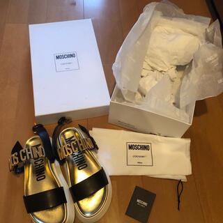 モスキーノ(MOSCHINO)のモスキーノ サンダル 新品 未使用 靴 36 23(サンダル)