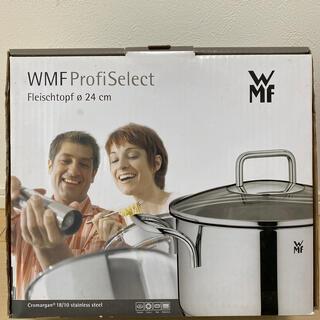 WMF - WMF 24cm ステンレス両手鍋 新品未使用