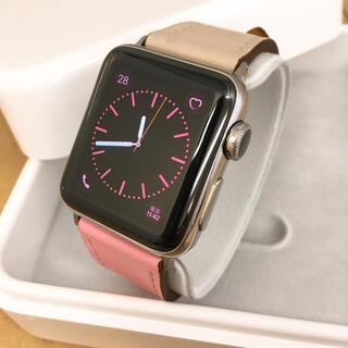 アップルウォッチ(Apple Watch)のApple Watch Series2 38mm ステンレス アップルウォッチ(腕時計(デジタル))