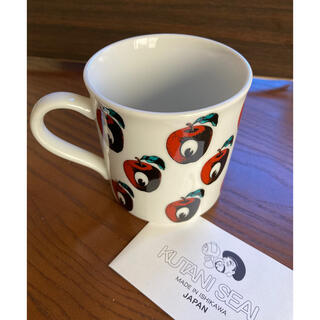 アンダーカバー(UNDERCOVER)のUNDERCOVER ×クタニシール コラボ 九谷焼 リンゴ マグカップ 新品(グラス/カップ)