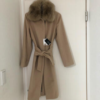 ビッキー(VICKY)の新品♡VICKY 襟ファーロングコート(ロングコート)