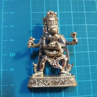 神様ミニメタル仏像 グヒヤサマージャ ゴールドカラー(彫刻/オブジェ)