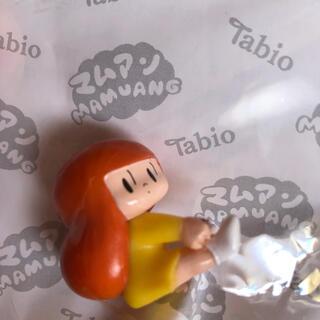 クツシタヤ(靴下屋)のTabio ×マムアンちゃん非売品フィギュア(キャラクターグッズ)