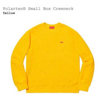 シュプリーム(Supreme)のsupreme polartec small box crewneck(スウェット)