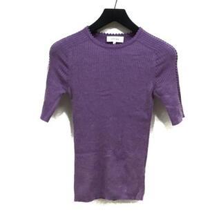 カルヴェン(CARVEN)のカルヴェン 半袖セーター サイズS美品  -(ニット/セーター)