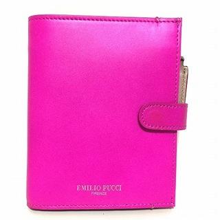 エミリオプッチ(EMILIO PUCCI)のエミリオプッチ 2つ折り財布美品  - ピンク(財布)