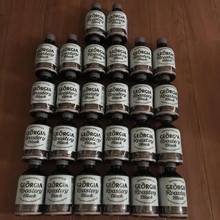 コカコーラ(コカ・コーラ)のジョージア ロースタリーブラック 280ml ペットボトル26本(コーヒー)