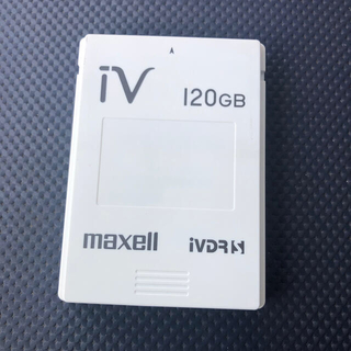 マクセル(maxell)のmaxell ivdr 120GB(その他)