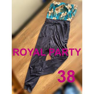 ロイヤルパーティー(ROYAL PARTY)のROYAL PARTY チューブトップ オールインワン 38(オールインワン)