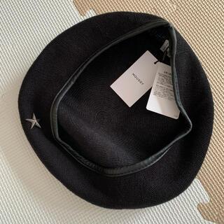 マウジー(moussy)の【送料込】moussy パイピングベレー帽(ハンチング/ベレー帽)