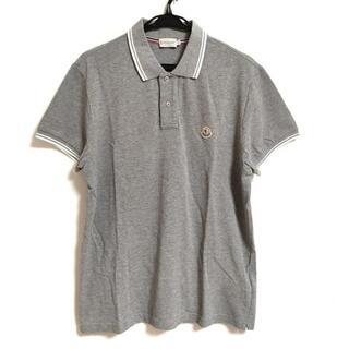 モンクレール(MONCLER)のモンクレール 半袖ポロシャツ サイズL(ポロシャツ)