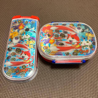 新品、未使用 3D妖怪ウォッチ お弁当箱セット(弁当用品)