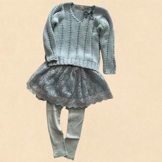 アンバー(Amber)のミントカラー女の子服 3点(Tシャツ/カットソー)