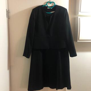 シマムラ(しまむら)の値下げ CLOSSHI ブラックフォーマル 礼服 ワンピーススーツ 17号(礼服/喪服)