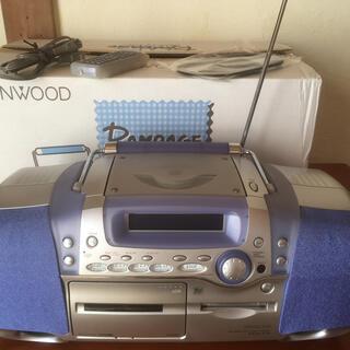 ケンウッド(KENWOOD)のラジカセ KENWOOD mdx-f3(ポータブルプレーヤー)