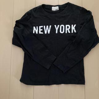 150 黒 長袖Tシャツ 美品(Tシャツ/カットソー)