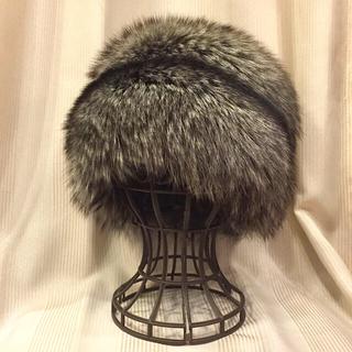 ルイヴィトン(LOUIS VUITTON)のLOUIS VUITTON ルイヴィトン  シルバーフォックス ロシア帽(その他)