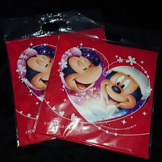 エヌティティドコモ(NTTdocomo)の3冊非売品  ドコモ  Disney  壁掛け カレンダー2021(カレンダー/スケジュール)
