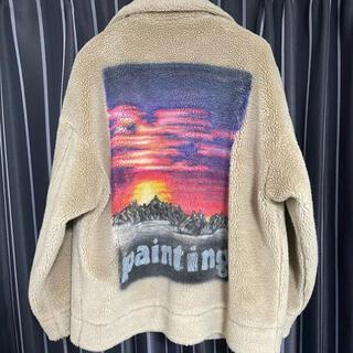 ミハラヤスヒロ(MIHARAYASUHIRO)のdoublet 17aw  hand painted fur jacket(ブルゾン)
