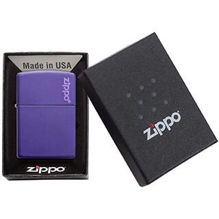 ジッポー(ZIPPO)のZippo Purple Matte 237ZL(タバコグッズ)