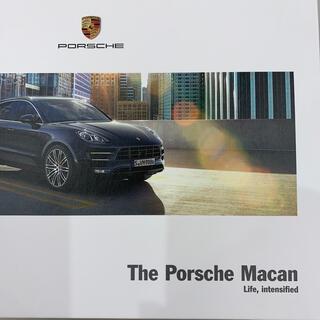 ポルシェ(Porsche)のポルシェマカン(カタログ/マニュアル)