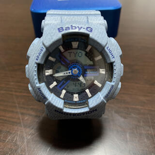 ベビージー(Baby-G)のBABY-G CASIO DENIM'D COLOR デニム(腕時計)