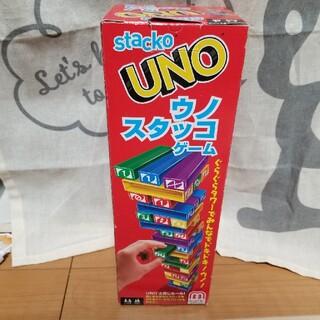 ウーノ(UNO)のウノ スタッコゲーム ジェンガ(トランプ/UNO)