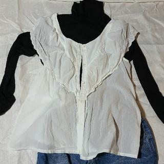 ツムグ(tumugu)のtumuguのレースシャツ(シャツ/ブラウス(半袖/袖なし))
