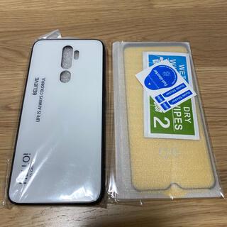 ラクテン(Rakuten)のOPPO A5 2020 専用ケース ガラスフィルム(モバイルケース/カバー)
