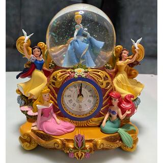 ディズニー(Disney)のディズニープリンセス  置時計 (置時計)