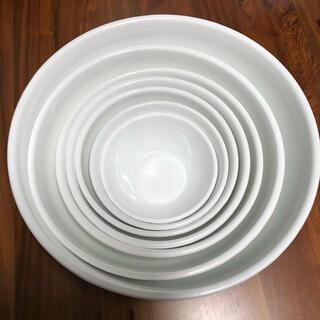 ノダホーロー(野田琺瑯)の野田琺瑯 ボウル 7点セット ホワイトシリーズ(調理道具/製菓道具)