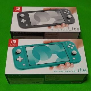 ニンテンドースイッチ(Nintendo Switch)の【ゆきちゃん様専用】Nintendo Switch  Lite( 2台)(家庭用ゲーム機本体)