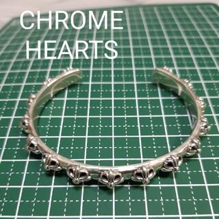 クロムハーツ(Chrome Hearts)の【CHROME HEARTS】クロスバンドバングル(ブレスレット/バングル)