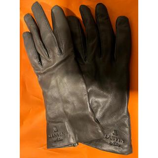 ランバンオンブルー(LANVIN en Bleu)の今期購入🌷半日使用 手袋(手袋)