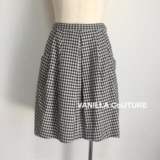 ダブルスタンダードクロージング(DOUBLE STANDARD CLOTHING)のVANILLA COUTURE ギンガムチェックスカート(ひざ丈スカート)