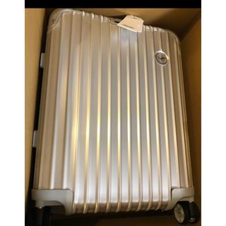 リモワ(RIMOWA)のRIMOWA ルフトハンザ 34L 新品(トラベルバッグ/スーツケース)