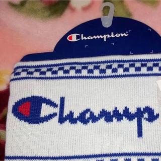 Champion - 厳寒対策にどうぞ‼️champion wool100%ネックウォーマーホワイト