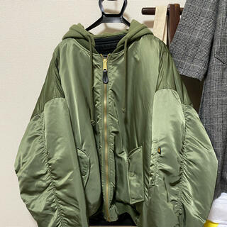 Balenciaga - vetements Alpha ボンバージャケット