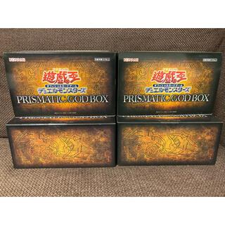 ユウギオウ(遊戯王)の遊戯王 PRISMATIC GOD BOX 4BOX 4箱(Box/デッキ/パック)