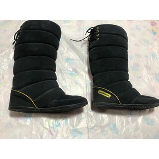 アディダス(adidas)のアディダスオリジナルス ムートンロングブーツ ブラック(ブーツ)