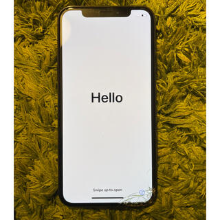 ソフトバンク(Softbank)のiPhone X Space Gray 64 GB Softbank 本体のみ(スマートフォン本体)