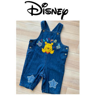 ディズニー(Disney)のオーバーオール プーさん(パンツ/スパッツ)