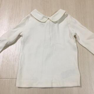ベビーギャップ(babyGAP)の美品 ブラウス トップス ロンT 襟付き(シャツ/カットソー)