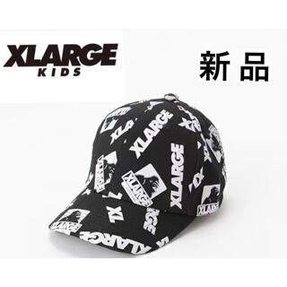 エクストララージ(XLARGE)のXLARGE KIDS ラージ OGゴリラ×ロゴランダム総柄プリントキャップ(その他)