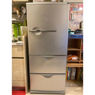 サンヨー(SANYO)の【12/27迄】SANYO サンヨー SR-261P 3ドア冷凍冷蔵庫 255L(冷蔵庫)